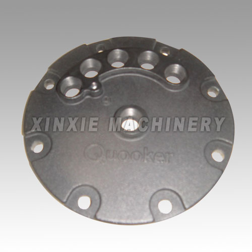 aluminum die casting with anodized