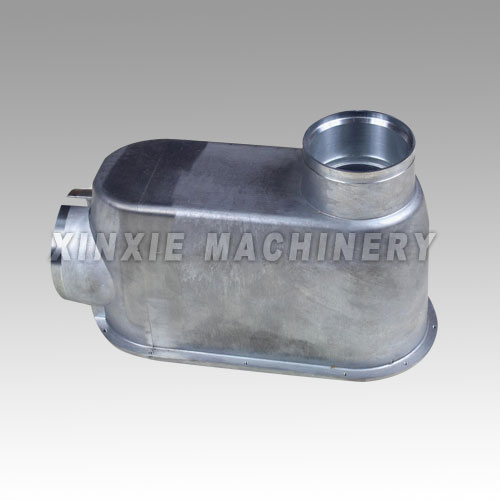 casted aluminum medical equipment parts